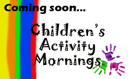 On Thursday mornings during the summer holidays we will be running children's activity sessions.<br /><br />Please contact us for more information or to book a place.