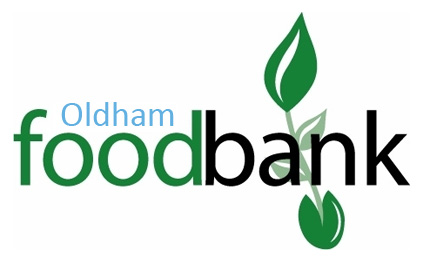 We support the Oldham Foodbank.